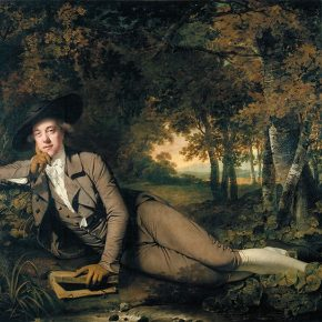 02 Joseph Wright Sir Brooke Boothby 1486 x 2076 mm Tate Bequeathed by Miss Agnes Ann Best 1925 290x290 - Three Hundred Years of British Landscape Painting: Masterpieces from Tate Britain are on show at the National Art Museum of China