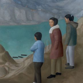 03 Duan Jianwei, Reservoir-2, oil on canvas, 180 × 150 cm, 2016