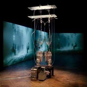 """03 Helen Pyno and Peta Clancy The Body is a Big Place 290x290 - """"Post Life Era"""" Under the Technology: Artists Discuss Life Issues"""