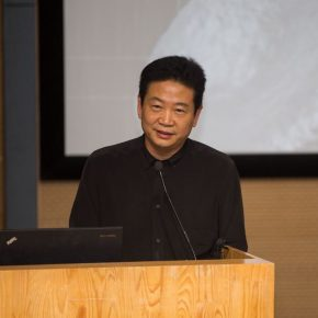 "03 Zhang Zikang Director of CAFA Art Museum delivered a speech 290x290 - The Second Beijing Media Art Biennale initiated thematic discussions on ""Post Life"""