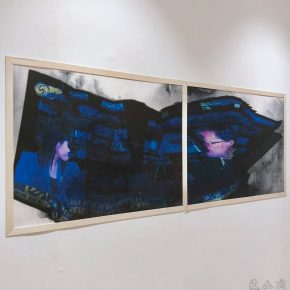 04 Exhibition View of Just Now 290x290 - Cai Guangbin: Starting from the Concept—The Modernized Process of Ink and Wash
