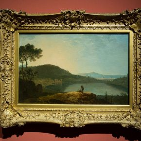 04 Richard Wilson Lake Avernus and the Island of Capri 470 x 724 mm c.1760 Tate Presented by Robert Vernon 1847 290x290 - Three Hundred Years of British Landscape Painting: Masterpieces from Tate Britain are on show at the National Art Museum of China