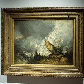 05 Joseph Mallord William Turner The Fall of an Avalanche in the Grisons oil on canvas 90 × 120 cm 1810 290x290 - Three Hundred Years of British Landscape Painting: Masterpieces from Tate Britain are on show at the National Art Museum of China