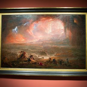 06 John Martin The Destruction of Pompei and Herculaneum oil on canvas 161.6 × 253 cm 1822 re stored 2011 290x290 - Three Hundred Years of British Landscape Painting: Masterpieces from Tate Britain are on show at the National Art Museum of China