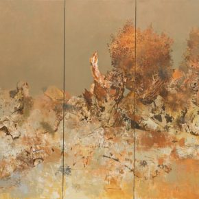 06 Li Ronglin Populus euphratica in desert 2015 Oil on canvas 200x400cm 290x290 - The Exhibition of Postgraduate and Doctoral Supervisors from CAFA will be unveiled on September 5