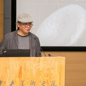 """06 Song Xiewei Dean of the School of Design at the Central Academy of Fine Arts served as the moderator 290x290 - The Second Beijing Media Art Biennale initiated thematic discussions on """"Post Life"""""""