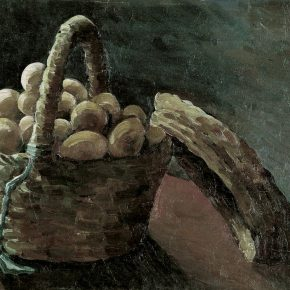 "06 Xiao Shufang A Basket of Eggs 1929 Oil on canvas 38x54cm 290x290 - ""The First Encounter"" and ""Same Path"": Exhibition of Wu Zuoren and Xiao Shufang opened at the National Art Museum of China"