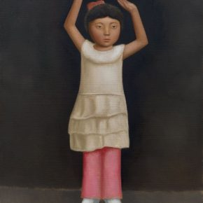 08 Duan Jianwei Dancing oil on canvas 135 × 100 cm 2014 290x290 - Duan Jianwei