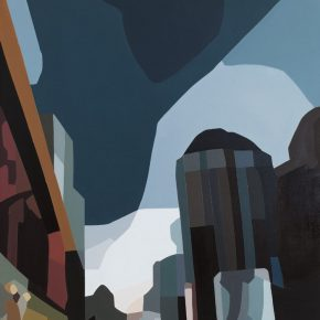 08 Qi Peng Urban Landscape No. 8 2011 Oil on canvas 140x200cm 290x290 - The Exhibition of Postgraduate and Doctoral Supervisors from CAFA will be unveiled on September 5