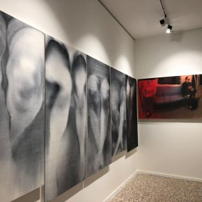 09 Exhibition View of Just Now 290x290 - Cai Guangbin: Starting from the Concept—The Modernized Process of Ink and Wash