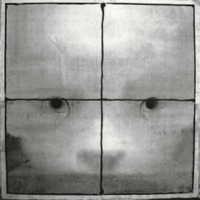 10 Cai Guangbin, Window • Gazing No.1, 70 × 70 cm, Chinese ink, rice paper, canvas, 2007