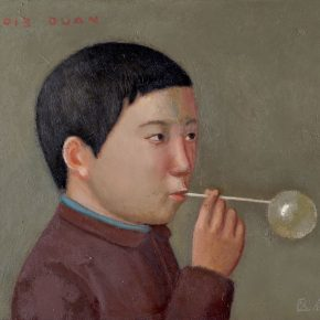 10 Duan Jianwei, Blowing a Bubble, 46 x 54 cm, 2013