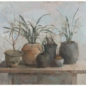 10 Sun Xun Potted Flowers 2016 Acrylic on canvas 130x160cm 290x290 - The Exhibition of Postgraduate and Doctoral Supervisors from CAFA will be unveiled on September 5