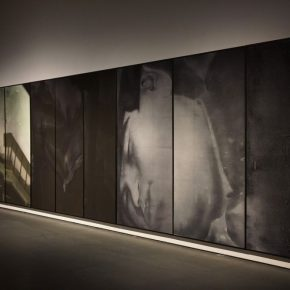 13 Exhibition View of Just Now 290x290 - Cai Guangbin: Starting from the Concept—The Modernized Process of Ink and Wash