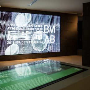 "14 Exhibition View 290x290 - The Second Beijing Media Art Biennale initiated thematic discussions on ""Post Life"""