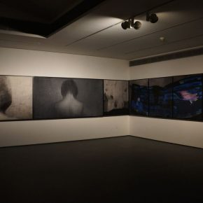 14 Exhibition View of Just Now 290x290 - Cai Guangbin: Starting from the Concept—The Modernized Process of Ink and Wash