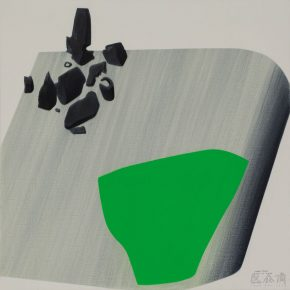 14 Yang Cheng Gree Construction 2018 Acrylic on canvas 100x100cm 290x290 - The Exhibition of Postgraduate and Doctoral Supervisors from CAFA will be unveiled on September 5