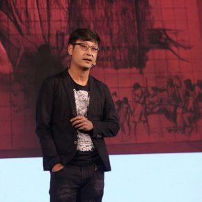 15 Artist Luo Peng was demonstrating 290x290 - 2018 Wang Shikuo Award Announced Artist Zheng Da Won the Grand Prize