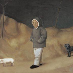 15 Duan Jianwei, Walking, 130 x 160 cm, 2011