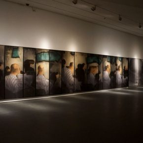15 Exhibition View of Just Now 290x290 - Cai Guangbin: Starting from the Concept—The Modernized Process of Ink and Wash