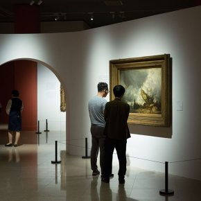 15 Installation view of the exhibition 290x290 - Three Hundred Years of British Landscape Painting: Masterpieces from Tate Britain are on show at the National Art Museum of China