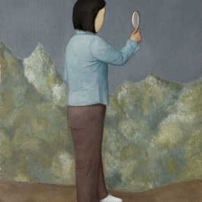 16 Duan Jianwei, Mirror, oil on canvas, 135 x 110 cm, 2012