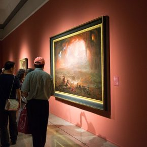 16 Installation view of the exhibition 290x290 - Three Hundred Years of British Landscape Painting: Masterpieces from Tate Britain are on show at the National Art Museum of China