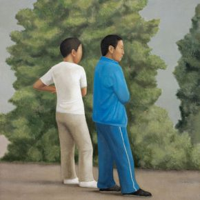 17 Duan Jianwei, Two Teenagers, 160 x 130 cm, 2013