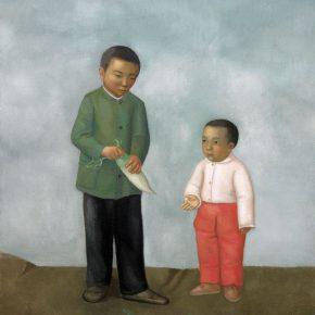 19 Duan Jianwei, Turnip, 160 x 130 cm, 2013