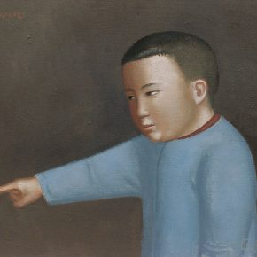 21 Duan Jianwei, A Child, 50 x 60 cm, 2012