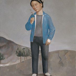 22 Duan Jianwei, A Girl, 130 x 110 cm, 2012