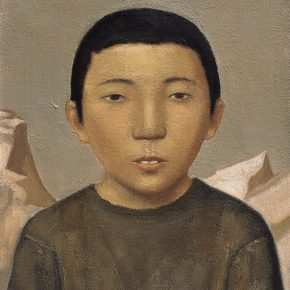 25 Duan Jianwei, Little Boy, oil on canvas, 50 x 40 cm, 2011
