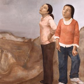 29 Duan Jianwei, Two Women, 180 x 120 cm, 2009