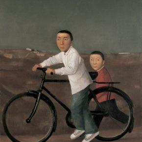 30 Duan Jianwei, Sliding, 180 x 140 cm, 2008