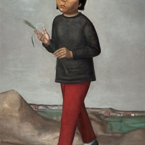 35 Duan Jianwei, Wheat, oil on canvas, 115 x 85 cm, 2004