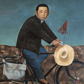 36 Duan Jianwei, Handicraft No.1, oil on canvas, 160 x 115 cm, 1993