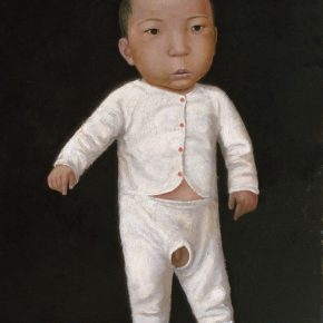 37 Duan Jianwei, Little Boy, oil on canvas, 12 x 106 cm, 1998