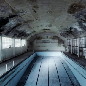 Andreas Mühe Schwimmhalle Photography C Print framed 129.7x159.3x4.5cm 2009 290x290 - Red Brick Art Museum presents the German photographer Andreas Mühe's first solo exhibition in China