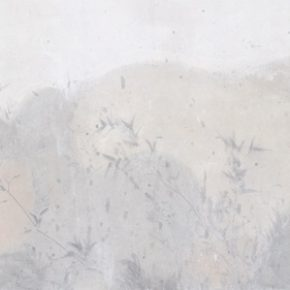 "Du Xiaotong Dense Grass and Woods No.22017 Ink and wash on rice paper63.5x216cm 290x290 - NAMOC announces ""Silence—Ink and Wash Art from the Du Xiaotong"" opening on September 20"