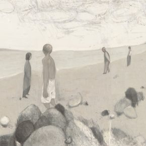 "Du Xiaotong Stroll 2018 Ink and wash on paper372X250cm 290x290 - NAMOC announces ""Silence—Ink and Wash Art from the Du Xiaotong"" opening on September 20"