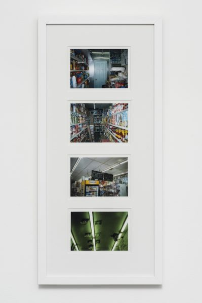 "Tschabalala Self Blunt POV 2017 Framed and mounted color photographs 69x32x2cm Courtesy of the artist and Pilar Corrias London 399x598 - Yuz Museum presents Tschabalala Self's first solo exhibition ""Bodega Run"" in China"
