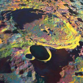 "Wang Yuyang The Moon 201803 Painting 200x200cm 290x290 - Massimo De Carlo presents Wang Yuyang's ""The Moon"" in Hong Kong"