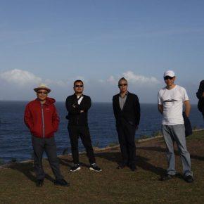 Six Artists attended the opening ceremony of Sculpture by the Sea including Zhang Wei, Mu Boyan, Hu Quanchun, Cao Hui, Wang Wei and Yu Fan