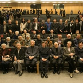 07 Group photo of the honored guests 290x290 - The Current Situation of Academic Painting and a Case Study from the Studio: CAFA's Dual Exhibitions of Oil Painting