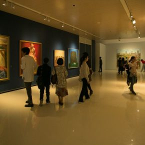 """12 Exhibition view of the """"Discipline with Master's Dignity—Teaching Research Exhibition of No.3 Studio of the Department of Oil Painting CAFA"""" 290x290 - The Current Situation of Academic Painting and a Case Study from the Studio: CAFA's Dual Exhibitions of Oil Painting"""