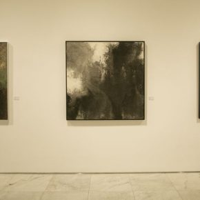 "13 Installation view of the exhibition 1 290x290 - ""Trace of Mind: Zhang Baowei Solo Painting Exhibition"" opened at CAFA Art Museum"