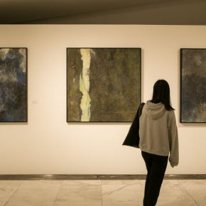 "15 Installation view of the exhibition 1 290x290 - ""Trace of Mind: Zhang Baowei Solo Painting Exhibition"" opened at CAFA Art Museum"