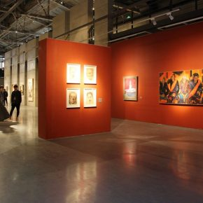Exhibition view of To the Era—Echo of Civilization