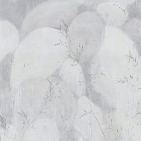Du Xiaotong Bamboo Stone of Heaven Pool No. 2 2017 Ink and wash on rice paper 247.5x123.5cm 290x290 - Du Xiaotong: Silently Moving Forward, Ink and Wash Has Been Rooted in My Heart