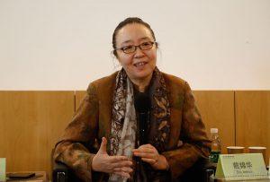 Curator, Prof. Dai Jinhua from the Institute of Comparative Literature and Comparative Culture in Peking University